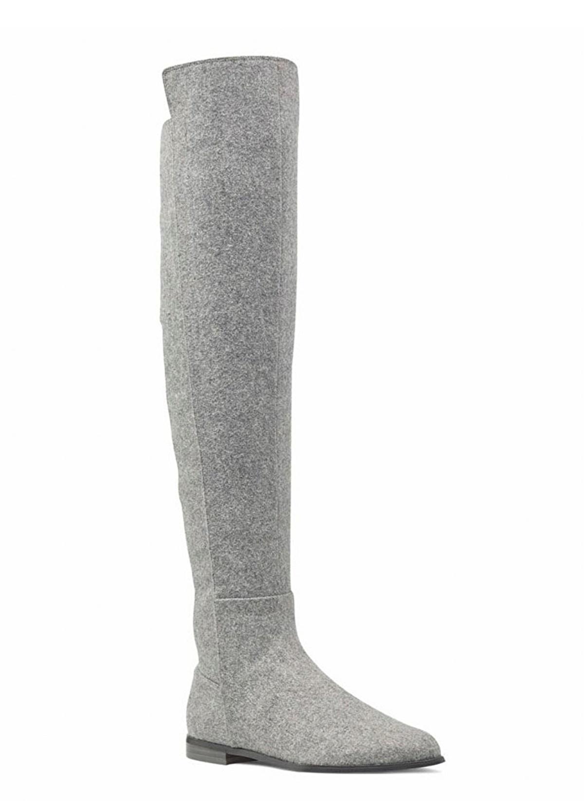 Nine West Fermuarlı Diz Üstü Çizme 450.0 Tl